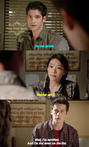 "S4 Ep5 ""I.E.D."" - Scott, Kira and Stiles"