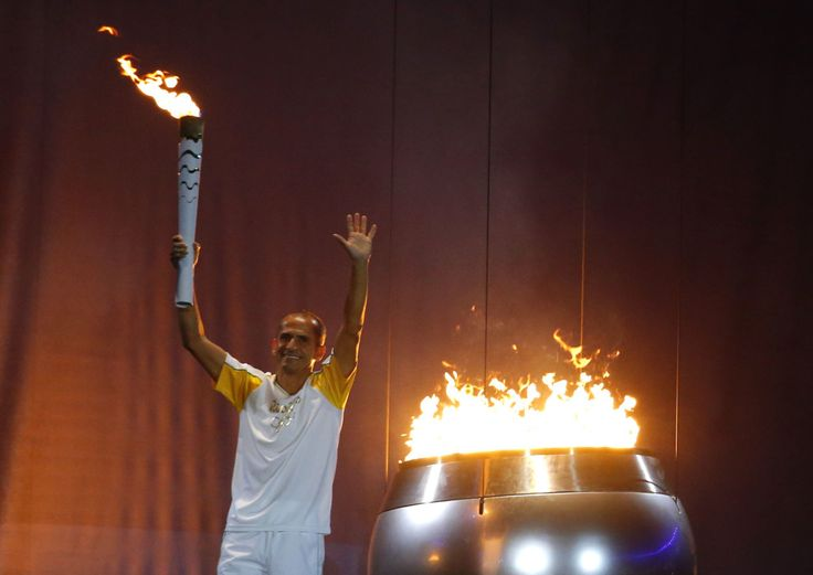 Here's The Inspiring Story Behind The Guy Who Lit The Rio Olympic Flame