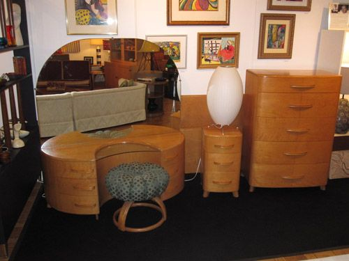 heywood wakefield bedroom furniture crescendo group champagne signed count set value vintage