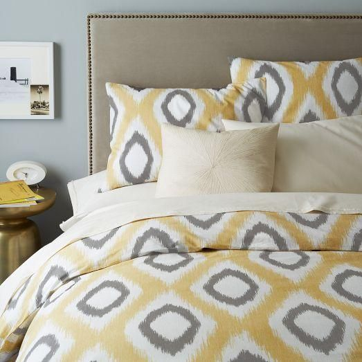 71 best Yellow grey images on Pinterest | Bedroom colours ...