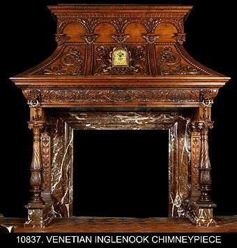1000 Ideas About Antique Fireplace Mantels On Pinterest