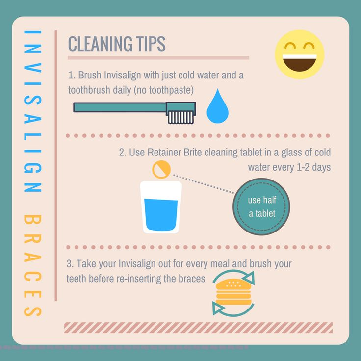Our tips for cleaning Invisalign clear braces and keeping