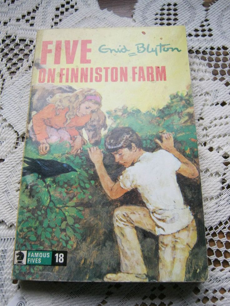 five on finniston farm p/back by enid blyton