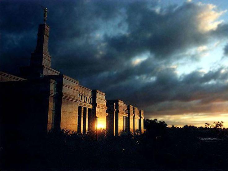 Porto Alegre Brazil LDS Temple.  Beautiful!