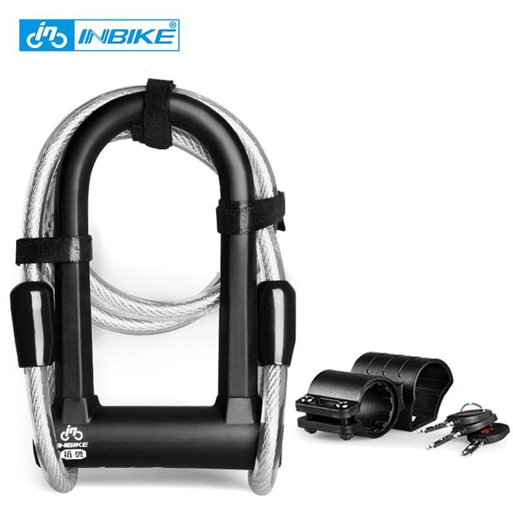 Doble abierta bicicleta candado u candado de bicicleta bicicleta de bloqueo antirrobo de Acero ciclismo cable lock 3 llaves