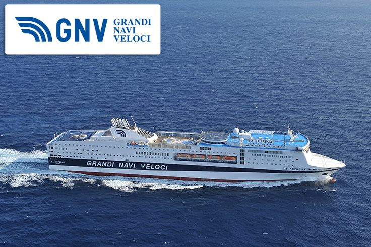 40.257 tons - 211,50 metres long - 2.920 #passengers - 984 #vehicles - 567 #cabins & 37 #suites. This #ship is the #Suprema!   Read more in #GNV website: http://www.gnv.it/en/gnv/the-gnv-fleet-grandi-navi-veloci-s-ferries/la-suprema.html