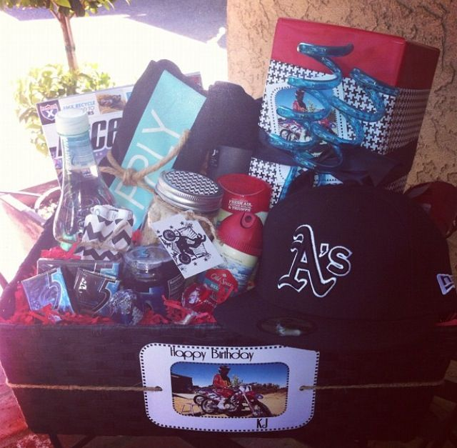 Diy Gift Basket For Teenage Boys Perfect Present Diy