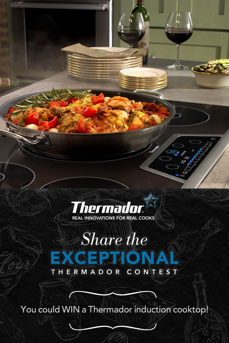I just entered the Share the Exceptional Thermador Contest!