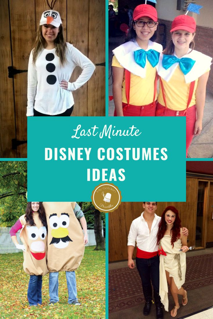 21 Amazing and Easy Disney Costumes to sew this Halloween