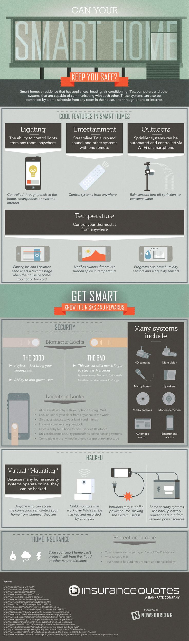 Can Your Smart Home Keep You Safe? #Infographic #SmartHome