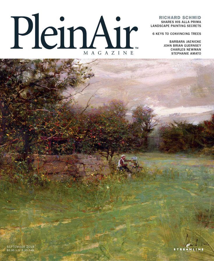 Discover What's Inside PleinAir Magazine, August/September