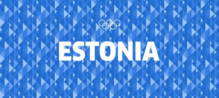 Estonia Olympic Uniform - Anton Repponen - Museum of Design Artifacts