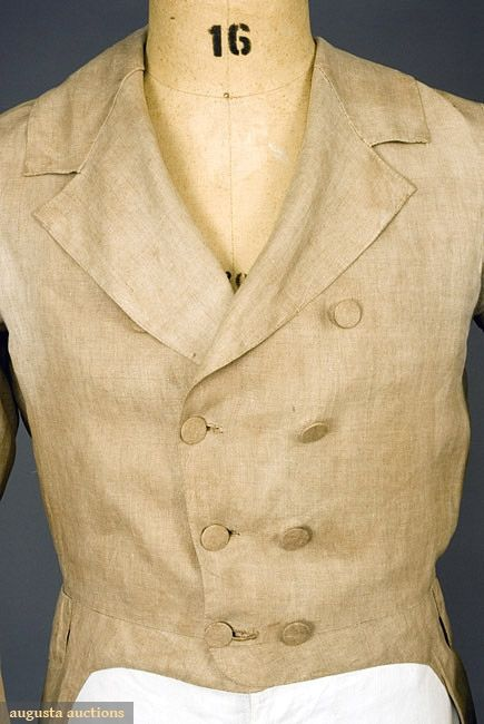 39 best 1790s men 39 s clothing images on pinterest 18th for Mens dress shirts with cufflink holes
