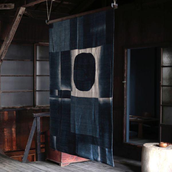 dip-dye Patchwork Blanket by x+l