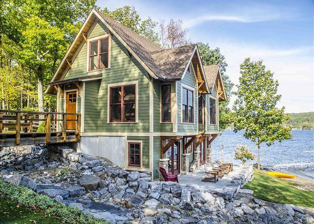 Keuka Lake Vacation Rentals: Timber Ridge   Finger Lakes Rentals   Lakeside Keuka Lake Rentals