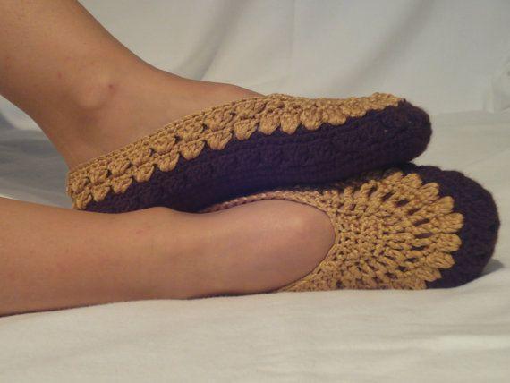 Free Crochet Pattern For Vans Slippers : Meer dan 1000 afbeeldingen over Crochet Slippers & Leg ...