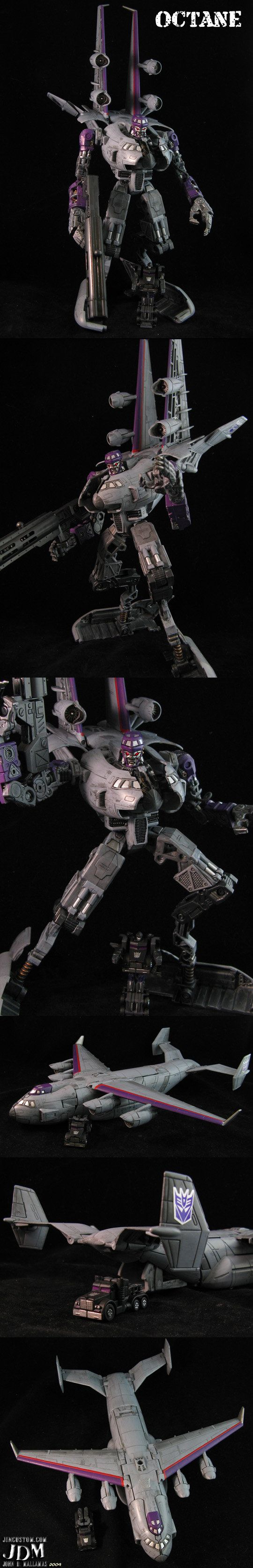 The leader of the Autobots returns and, wait, this isn't Optimus Prime! This is NEMESIS PRIME! No longer straight movie style I've gone and given this custom Transformers Nemesis Prime a classic lo...