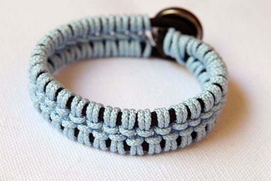 DIY Lacey Macrame Bracelet | Remarkably Domestic
