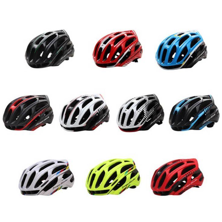 Fietshelm MTB Racefiets Fietsen Veiligheid Helmen 36 Vents Verstelbare Ultralight LED Waarschuwingslichten
