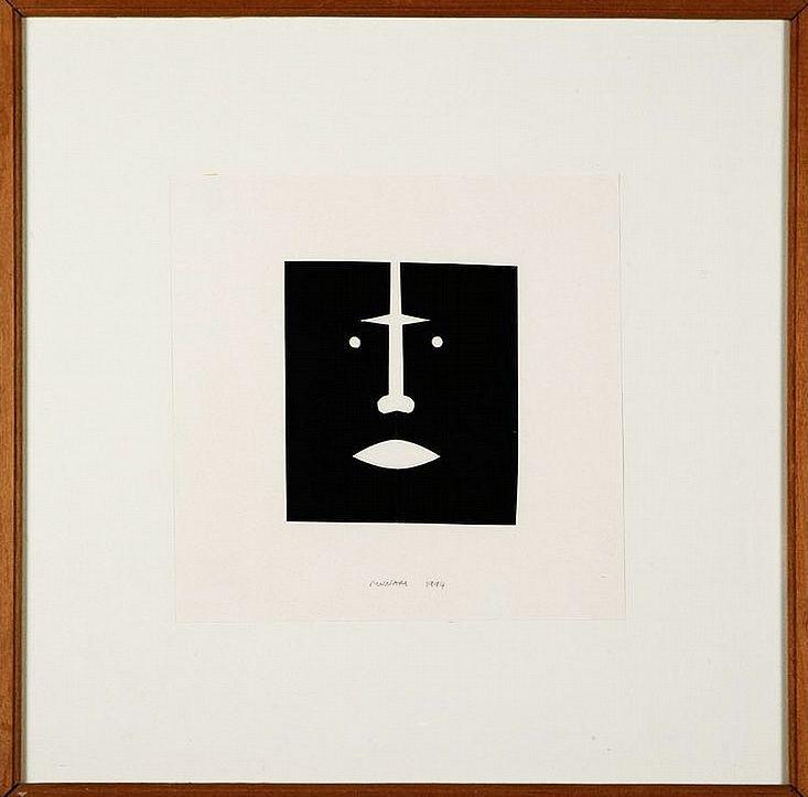 Bruno Munari, Faces, 1994-66