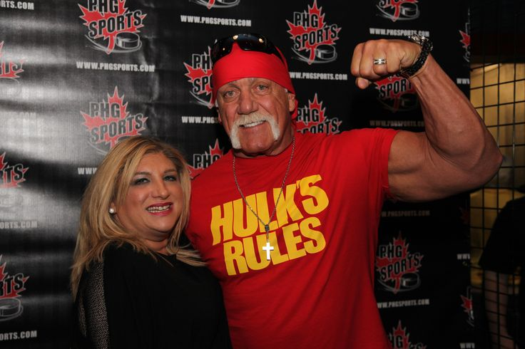 Ran into Hulk Hogan at Dave & Busters in Vaughan, Ontario last night! He's in town for Fan Expo Canada! I can't resist a man with muscles! How about you? Want to see more of me and the big guy? Stay tuned for Season 4 of Janette's I'm Every Woman! TV! And in the meantime, please join my YouTube Channel - https://www.youtube.com/user/YourMarketingMagnet! We are in the process of re-branding this Channel to Janette's I'm Every Woman! TV