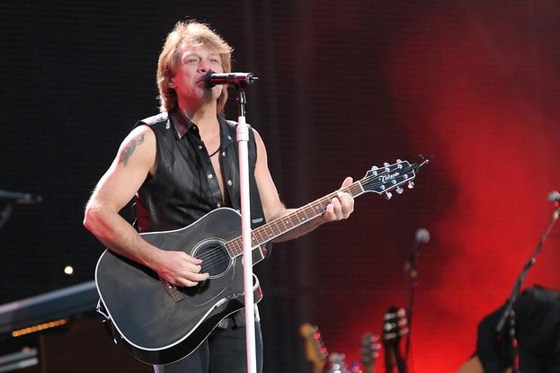 Bon Jovi at the Sydney football stadium