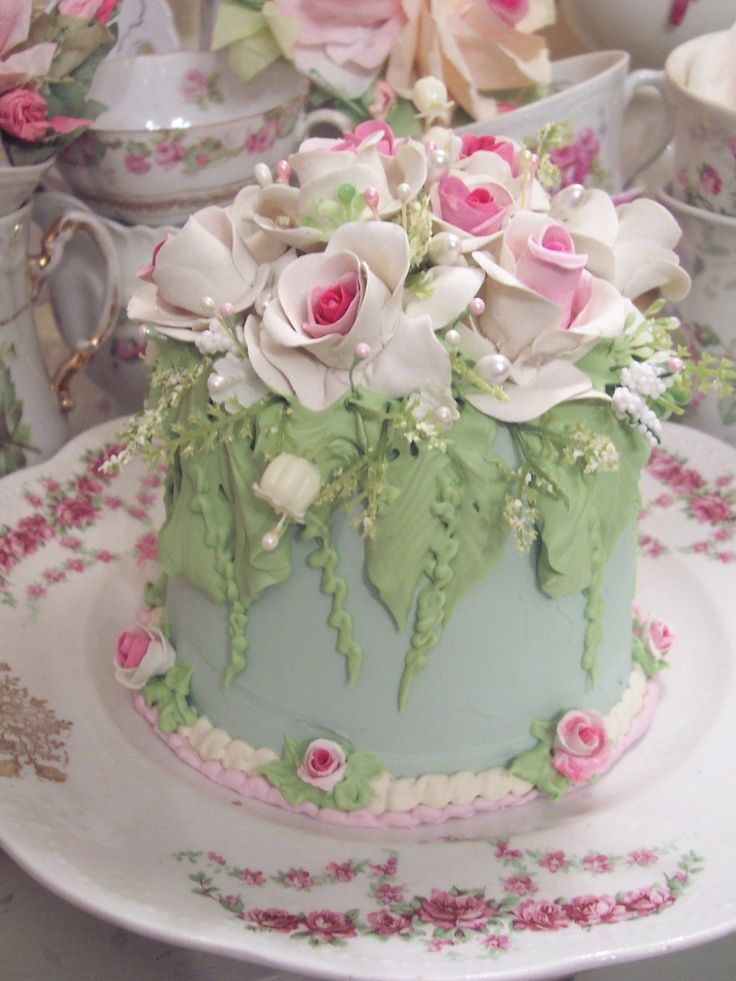 17 Best ideas about Birthday Cake With Flowers on ...