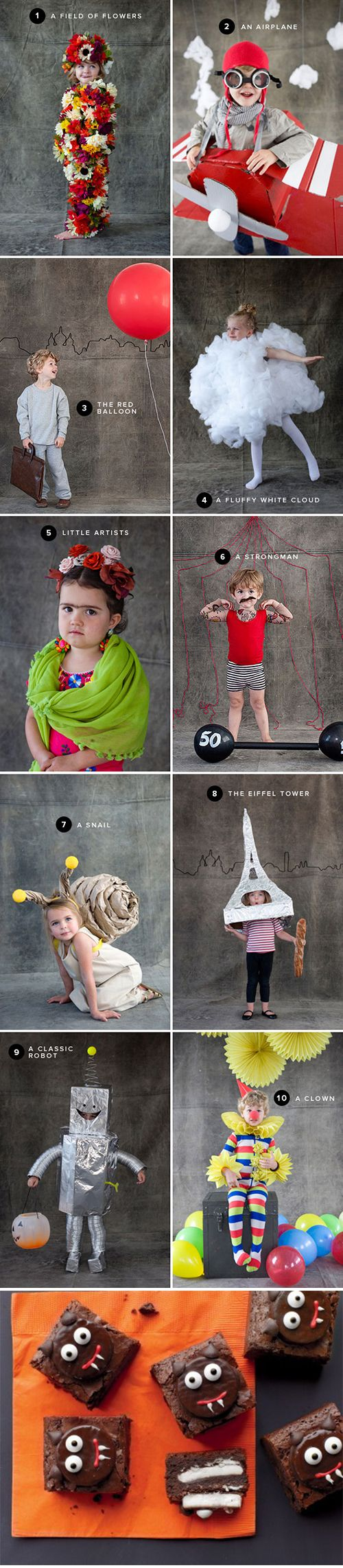 handmade DIY kids children's costumes