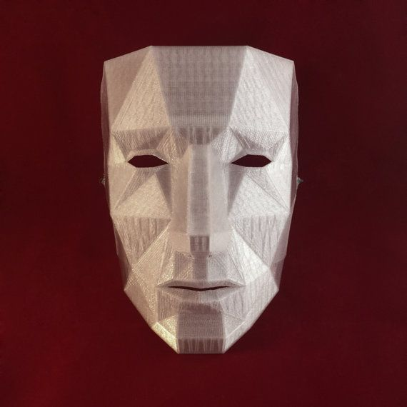 25 best ideas about low poly mask on pinterest fox mask bear mask and paper mask. Black Bedroom Furniture Sets. Home Design Ideas