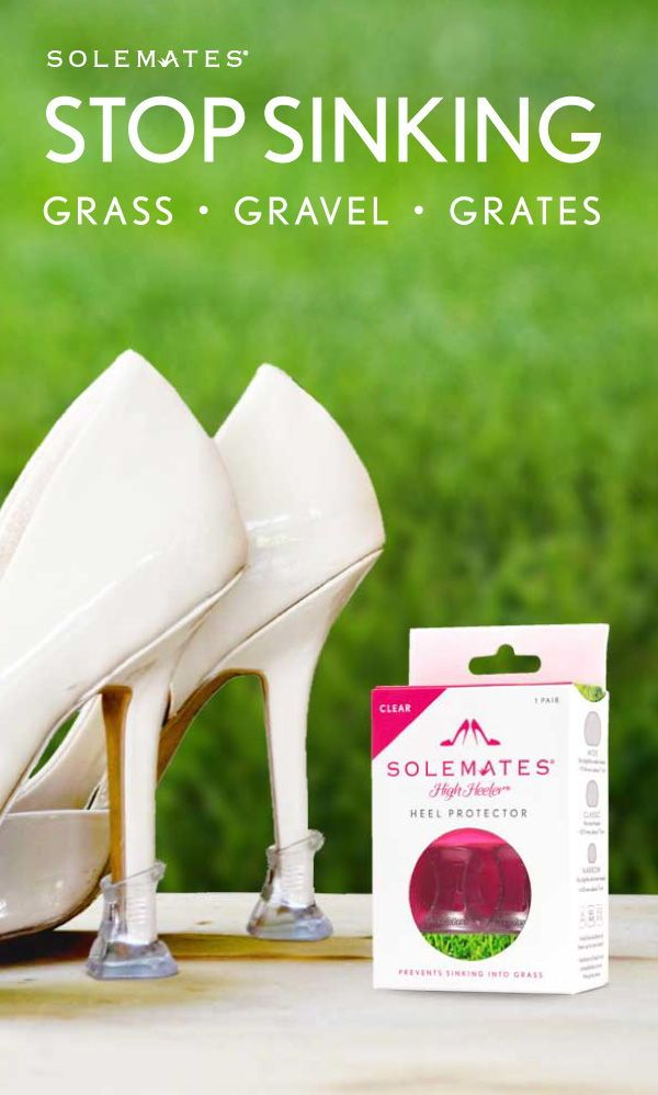 642d496f4 Heel Protectors: Single Pair (Clear) in 2019 | Bridesmaids & Wedding ...