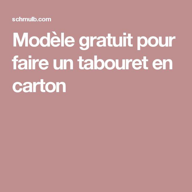 102 best Meubles en carton images on Pinterest Cardboard furniture - Fabriquer Une Chambre Noire En Carton