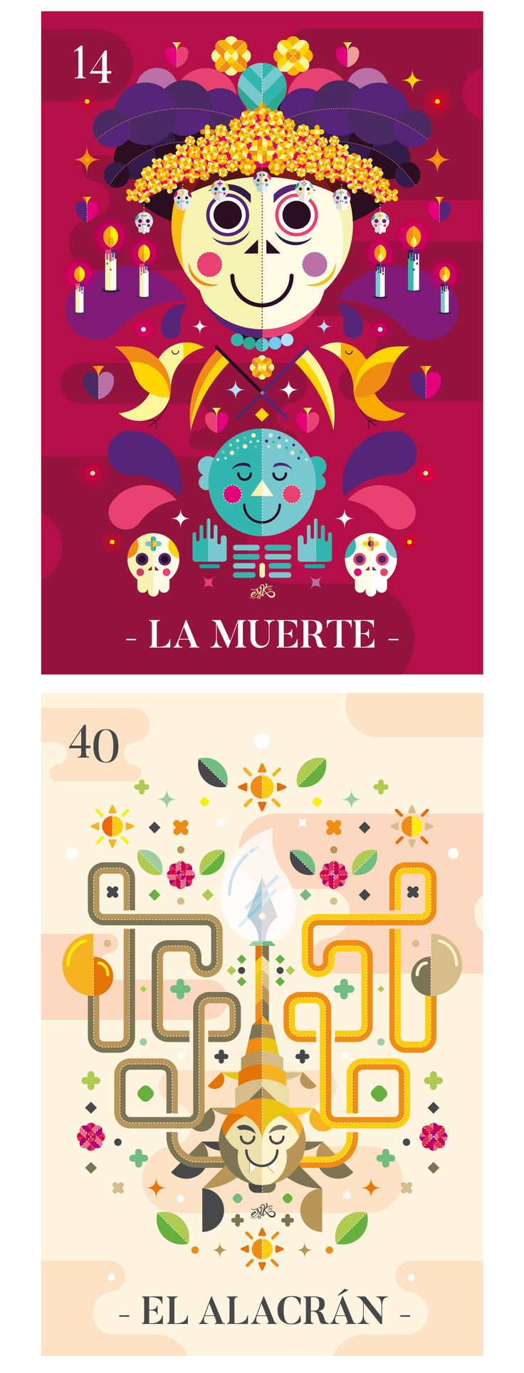Lotería mexicana on Behance