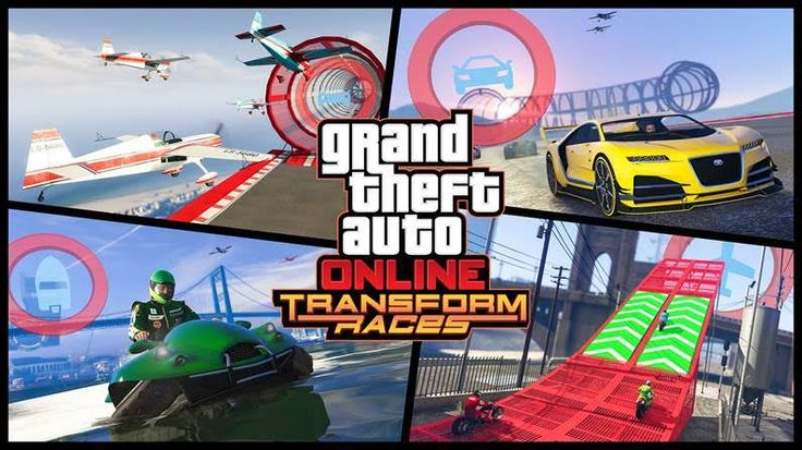 The ability to create you own Transform races in GTA