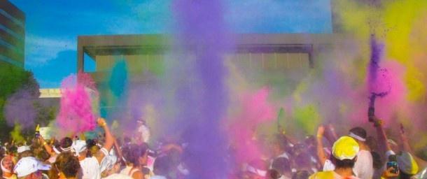 Breda krijgt met Colorrain eigen editie van Colorrun