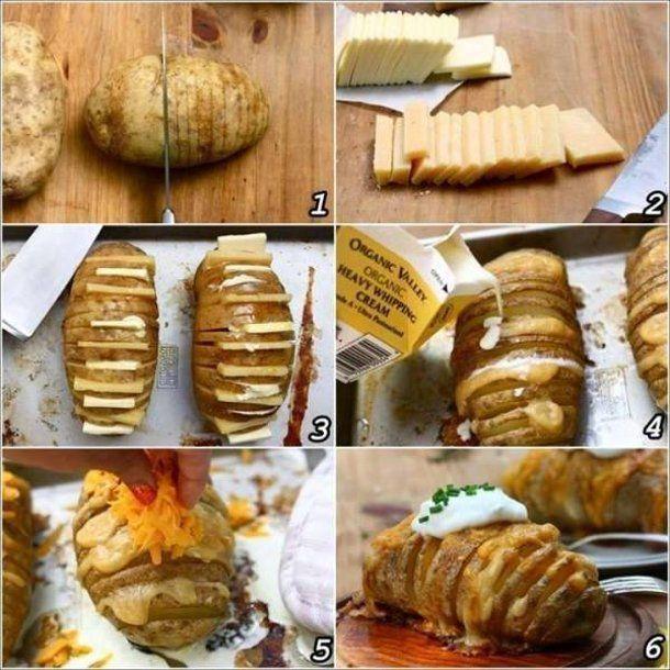Pomysłowy ziemniak