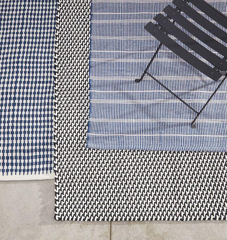Broken Stripe Indoor/Outdoor Rug - | Rejuvenation