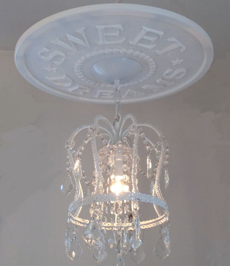 DIY Sweet Dreams Ceiling Medallion By Marie Ricci $34.95 ( Quick Ship!!) And