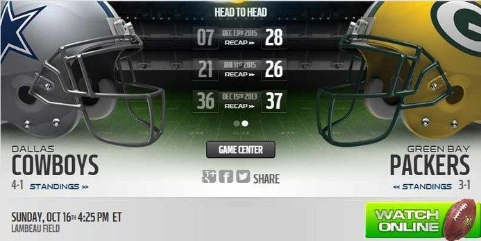 http://cowboysvspackers.co  Cowboys vs Packers