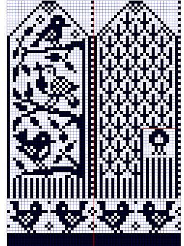 Мобильный LiveInternet Узоры для вязания варежек. Схемы для вязания. | Юлия_Ж - Дневник Юлия_Ж |