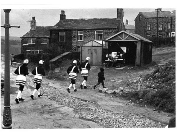 Bacup Coconut Dancers by Tony Ray-Jones