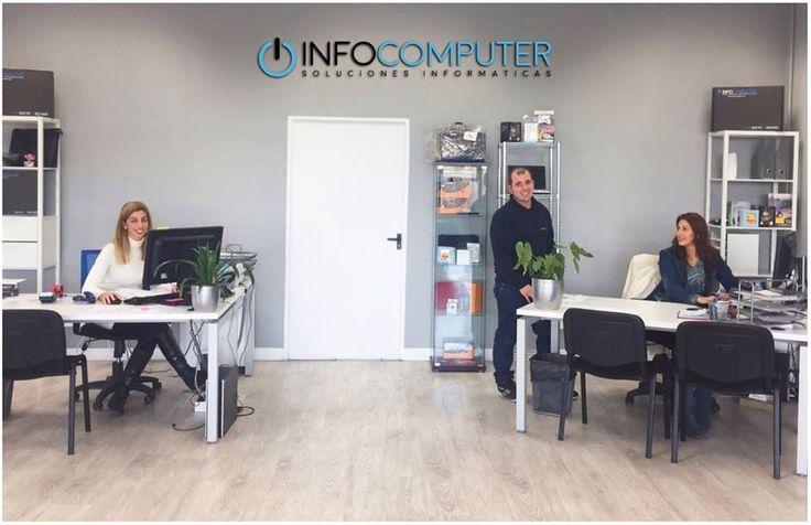 En #Infocomputer puedes comprar tus productos en nuestra tienda física. Te atendemos de forma personalizada.   Ven, y siéntete como en casa.   www.info-computer.com  #ordenadoresbaratos #ordenadores #laptop #computer #computers #team #πersonas #equipo #dreamteam #people #personalized