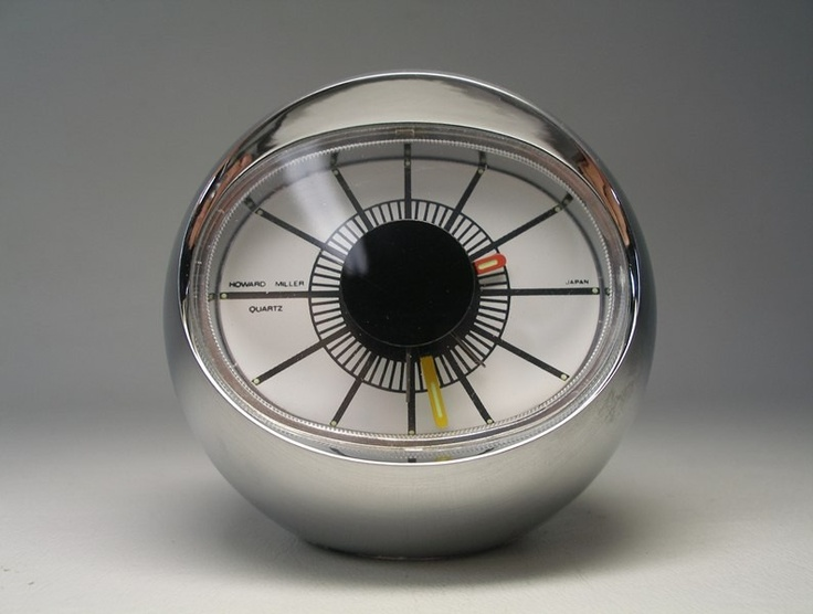 vintage mod style desk clocks via 1 - Designer Desk Clock