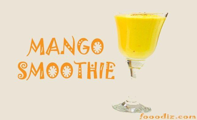Mango Smoothie,moktails,mojito,mango,ice cream