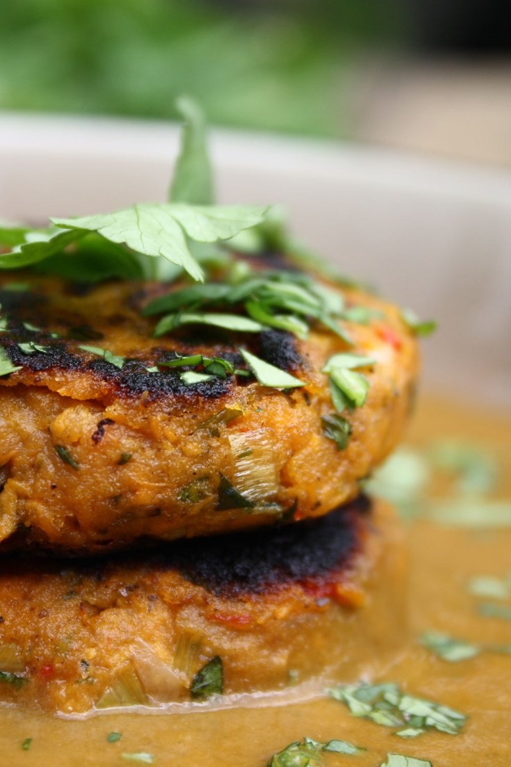 ... with Spicy Coconut and Spinach Sauce « Cook Eat Live Vegetarian