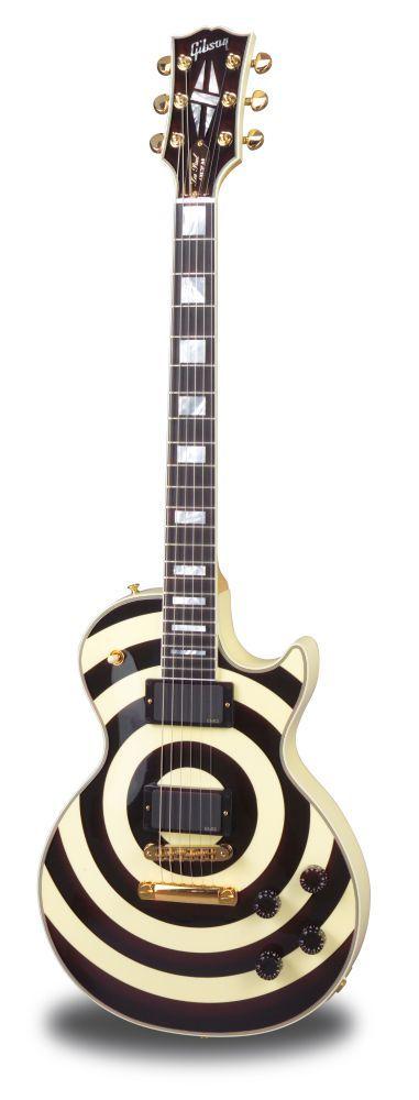 GIBSON Les paul zakk wylde bullseye custom - Guitares électriques - Custom Shop | Woodbrass.com