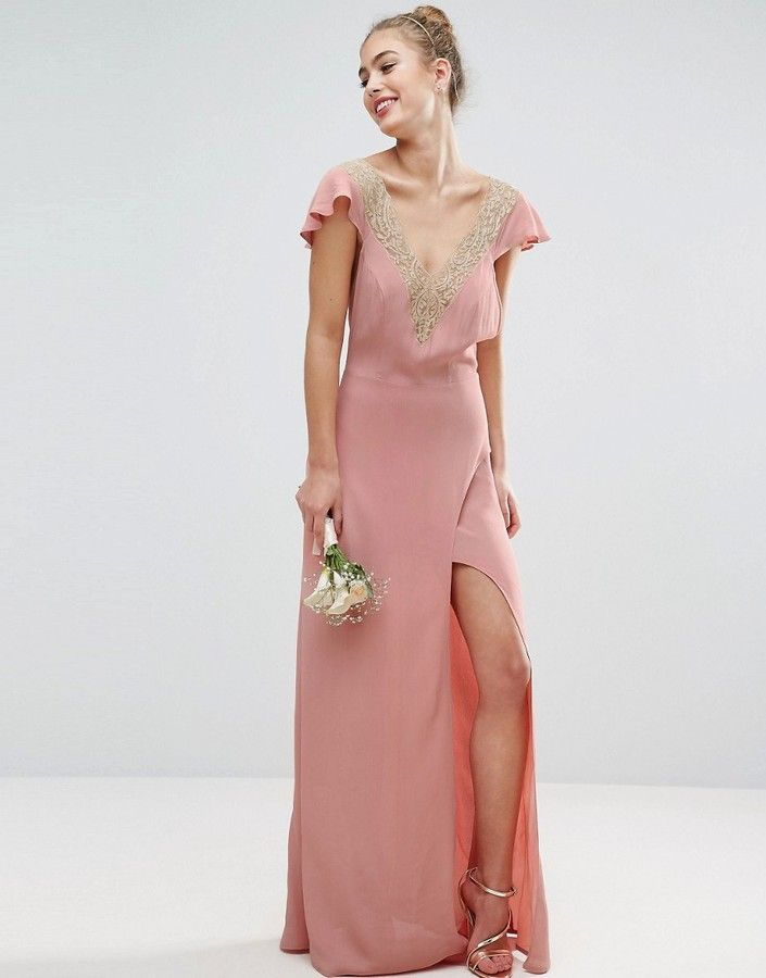 261 best pink bridesmaid dresses images on pinterest a for Young wedding guest dresses