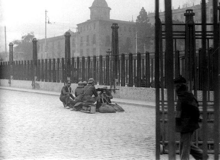 Estación del Norte, Guerra Civil.1936. Valencia