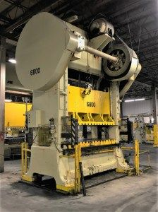 300 Ton Capacity Minster Straight Side Press For Sale