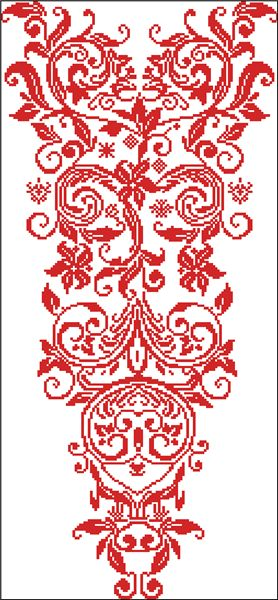 Embroidery...red work