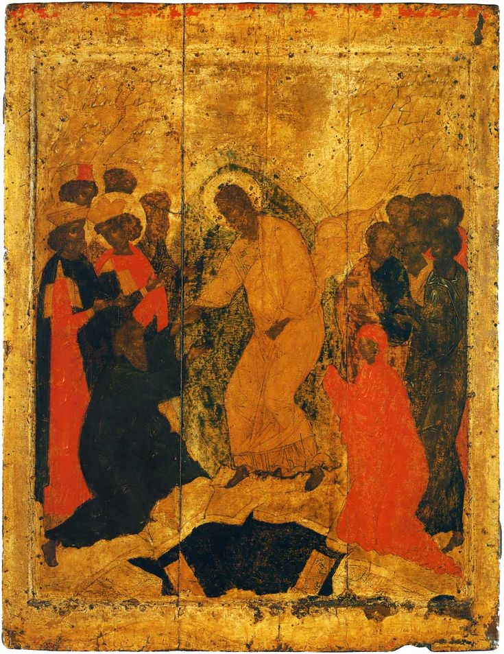 Праздничный чин Благовещенского собора. Прохор. Сошествие во ад